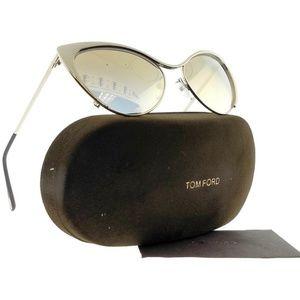 2d278ca5d6dc4 FT0304-NASTASYA-28G-56 Women Gold Frame Sunglasses
